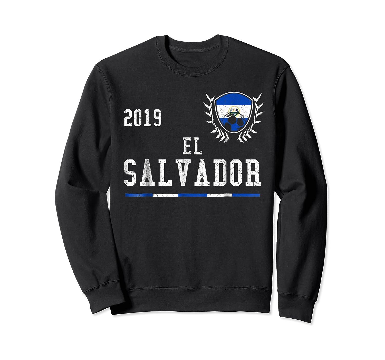 El Salvador Football 2019 Salvadorean Soccer T-shirt Crewneck Sweater