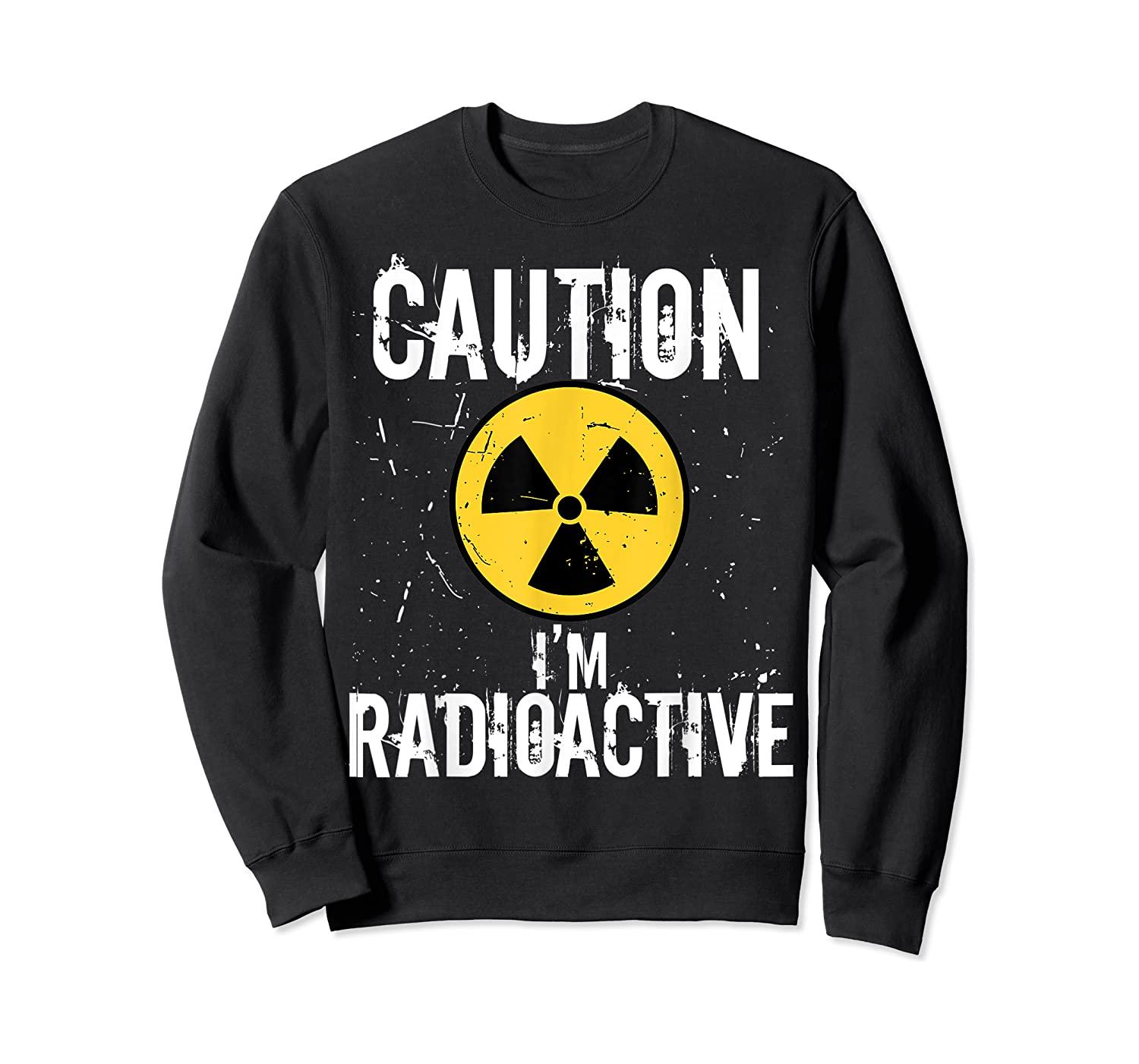 Radiation Therapy Funny Cancer Get Well Soon Gift Survivor T-shirt Crewneck Sweater
