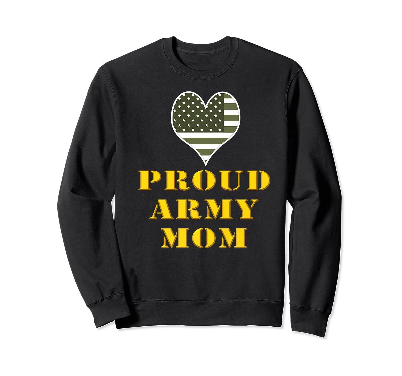 Proud Army Mom Shirts Crewneck Sweater
