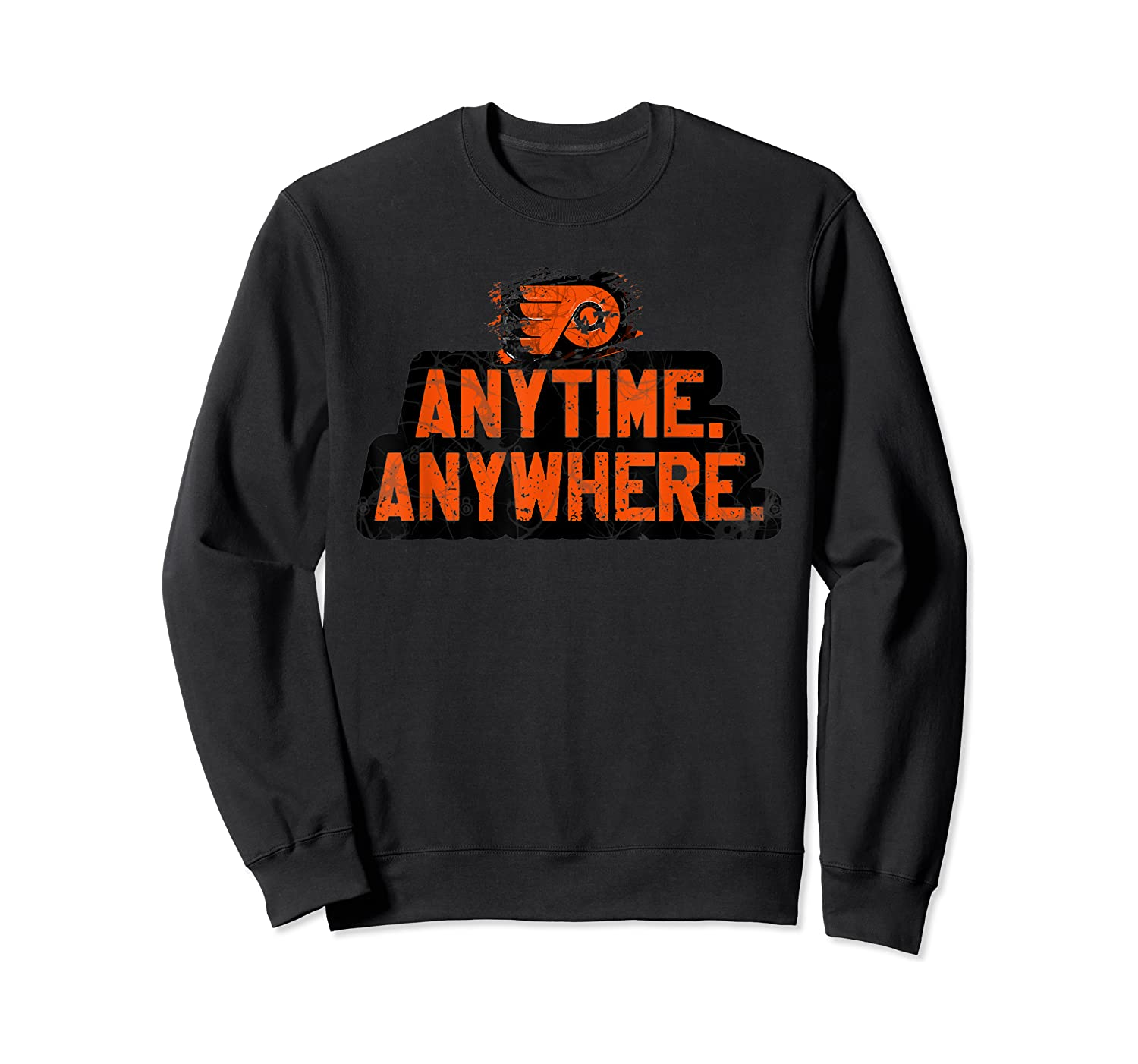 Anytime Anywhere Flyers Shirts Crewneck Sweater