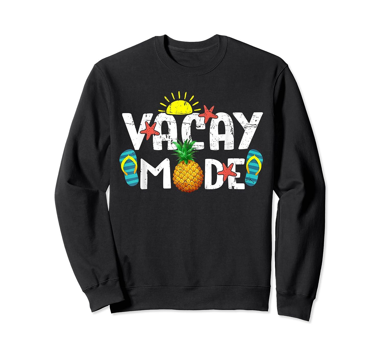 Family Vacation Holidays Vacay Mode Summer Travel Gift T-shirt Crewneck Sweater