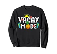 Family Vacation Holidays Vacay Mode Summer Travel Gift T-shirt Sweatshirt Black