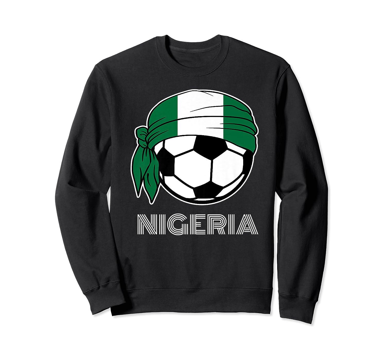 Nigeria Soccer 2019 Super Eagles Fans Kit Football Shirts Crewneck Sweater