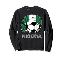 Nigeria Soccer 2019 Super Eagles Fans Kit Football Shirts Sweatshirt Black
