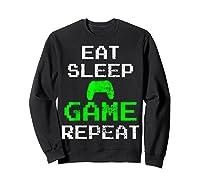 Gaming Console Vintage Shirts Sweatshirt Black