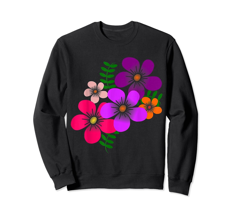 Blooming Flower, Blooms, Blossoms, Garden, Bunch Of Flowers T-shirt Crewneck Sweater