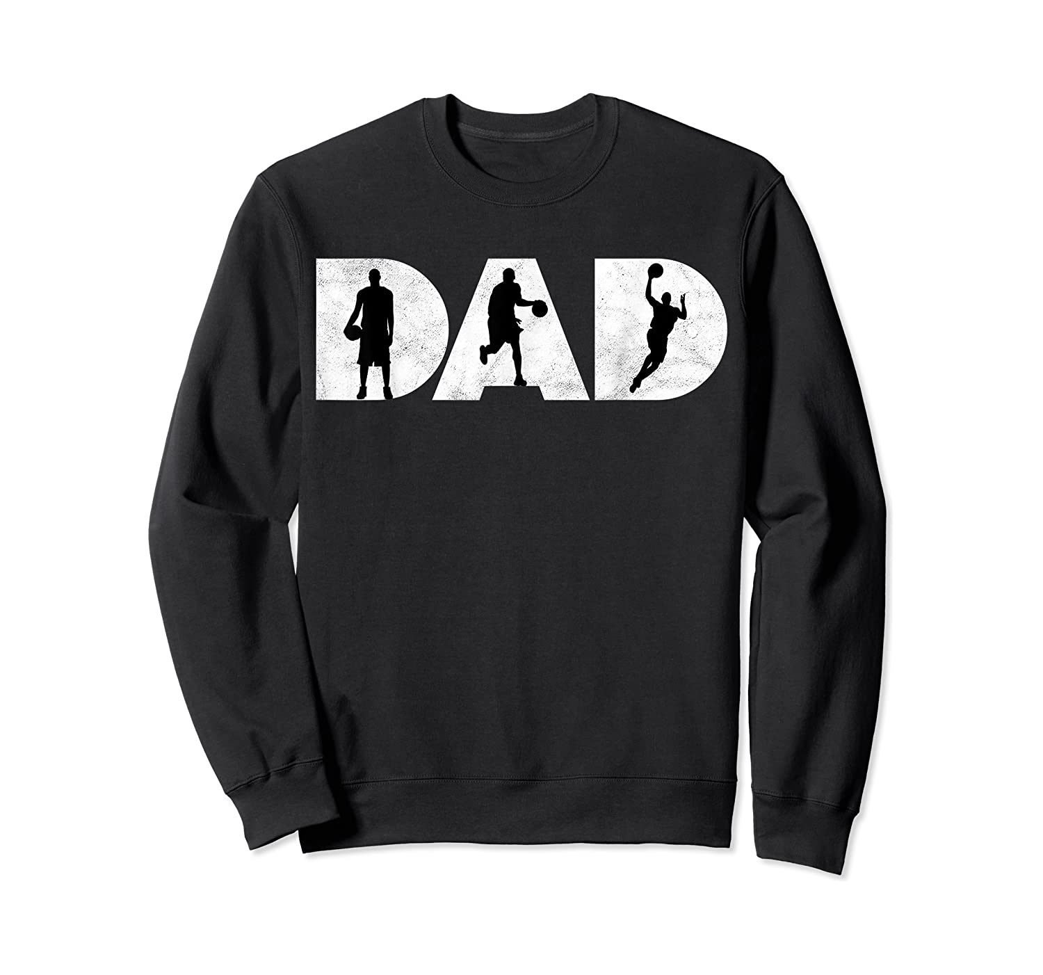 Father Gift For Basketball Dad Shirts Crewneck Sweater