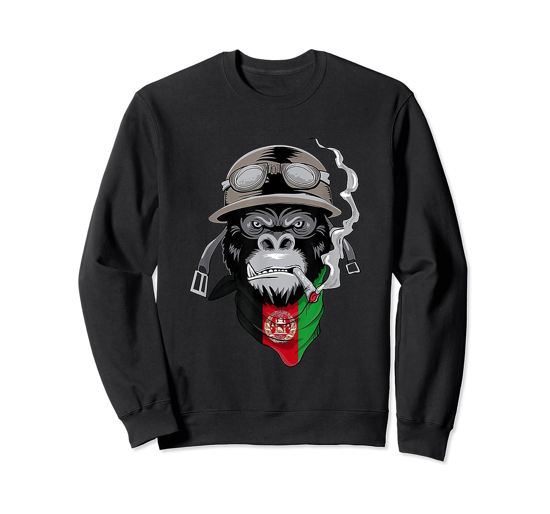 Afghanistan Afghans Shirts Crewneck Sweater