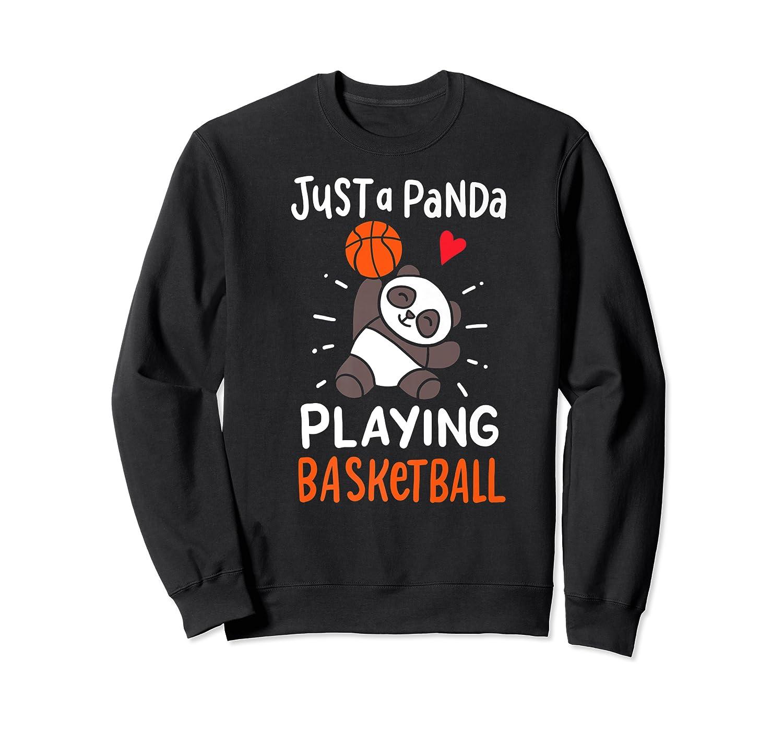 Basketball Panda Premium T-shirt Crewneck Sweater