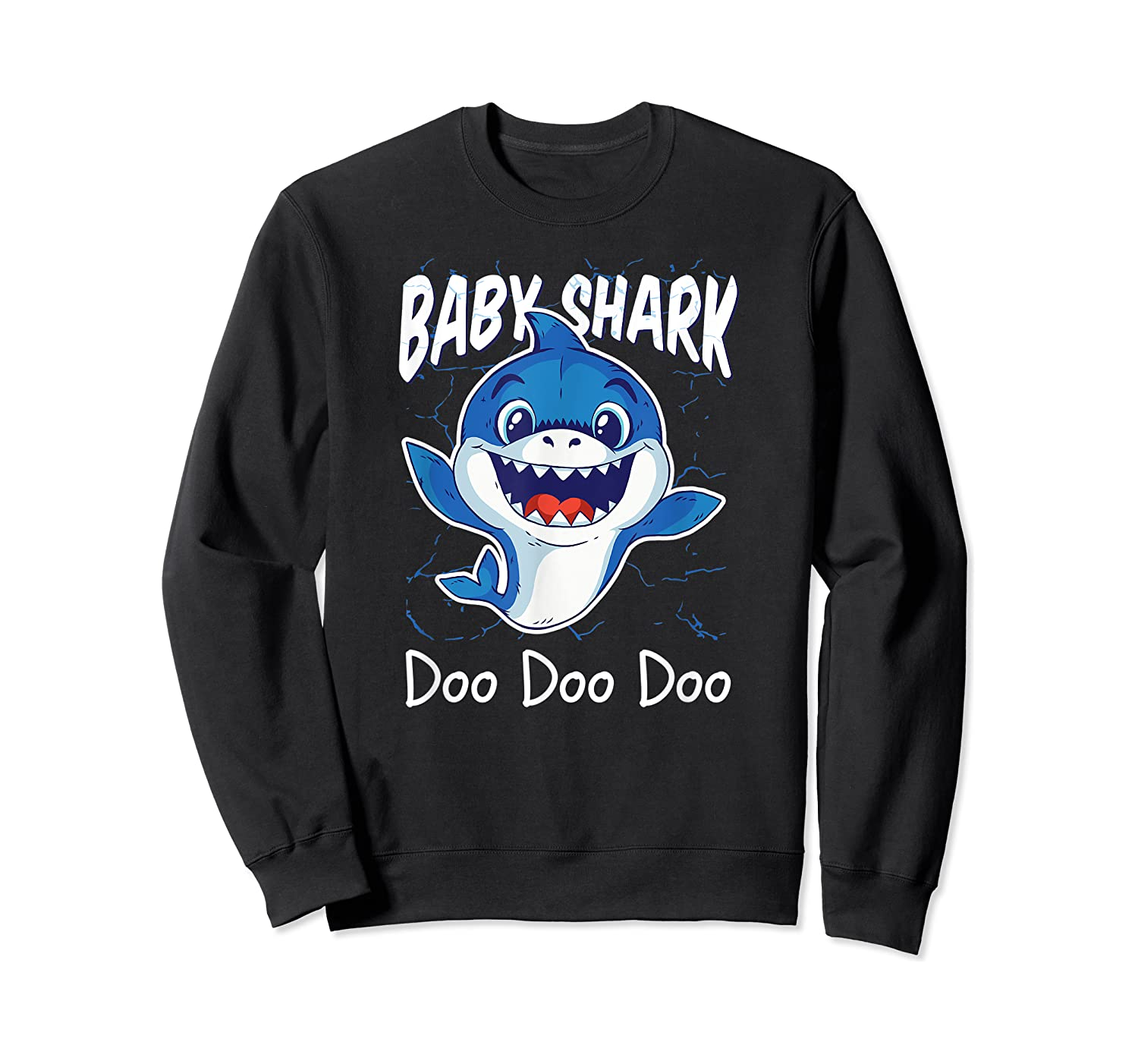 Baby Shark Doo Doo Birthday Party Gifts Girl Boy Out T-shirt Crewneck Sweater