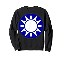 Taiwan Flag Kuomintang Symbol Shirts Sweatshirt Black
