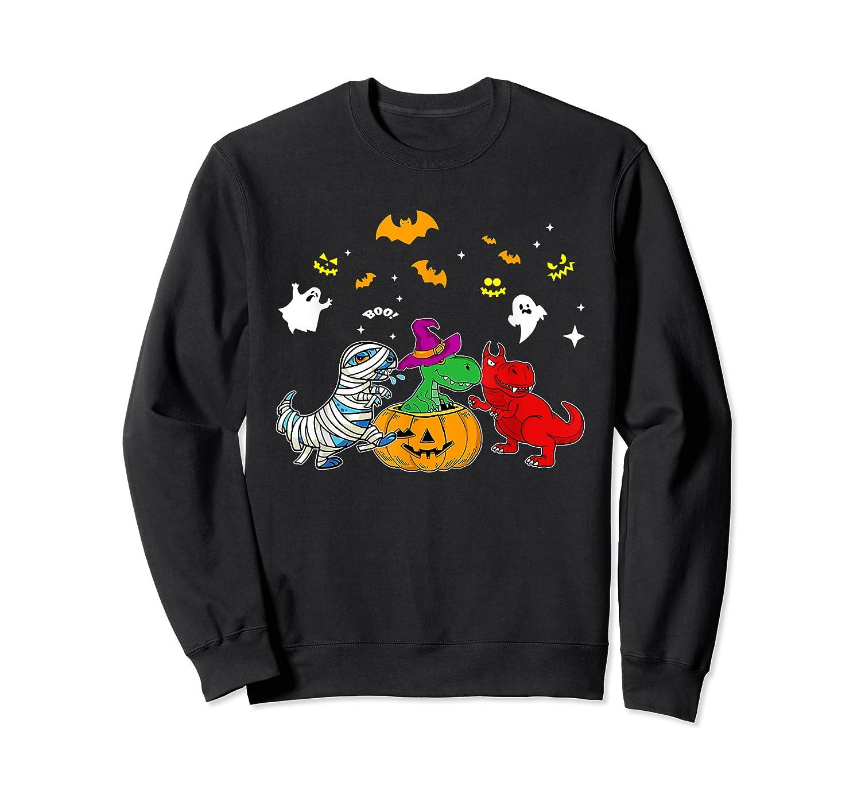 Funny Saurus Halloween Costumes Saurus Lovers Shirts Crewneck Sweater