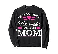Paramedic Mom Mothers Day Gift For Shirts Sweatshirt Black