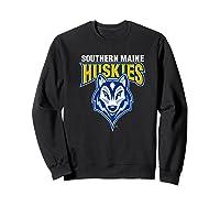 University Of Southern Maine Huskies Ppusmn02 Shirts Sweatshirt Black