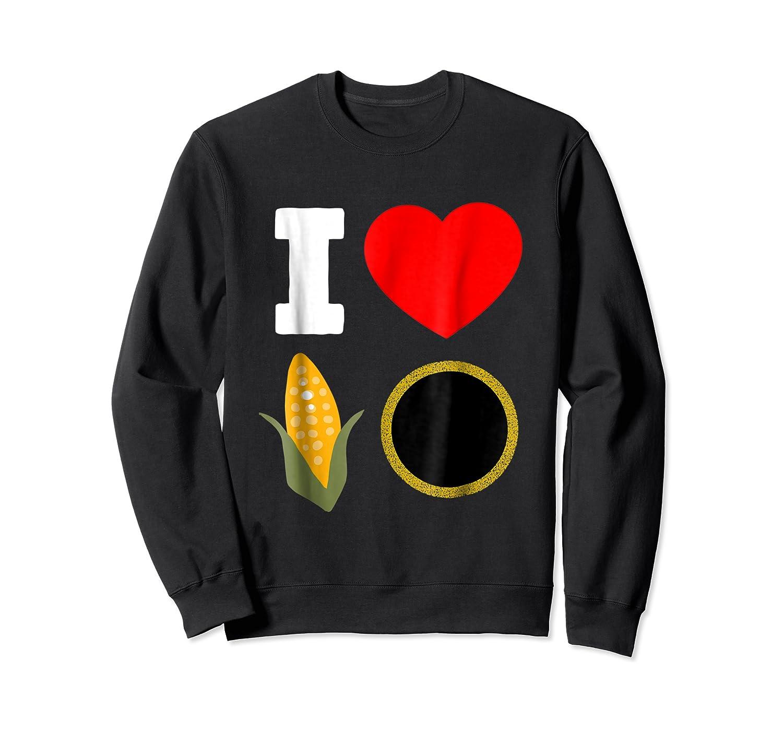 Cornhole Shirts For And . I Love Cornhole Tee Crewneck Sweater