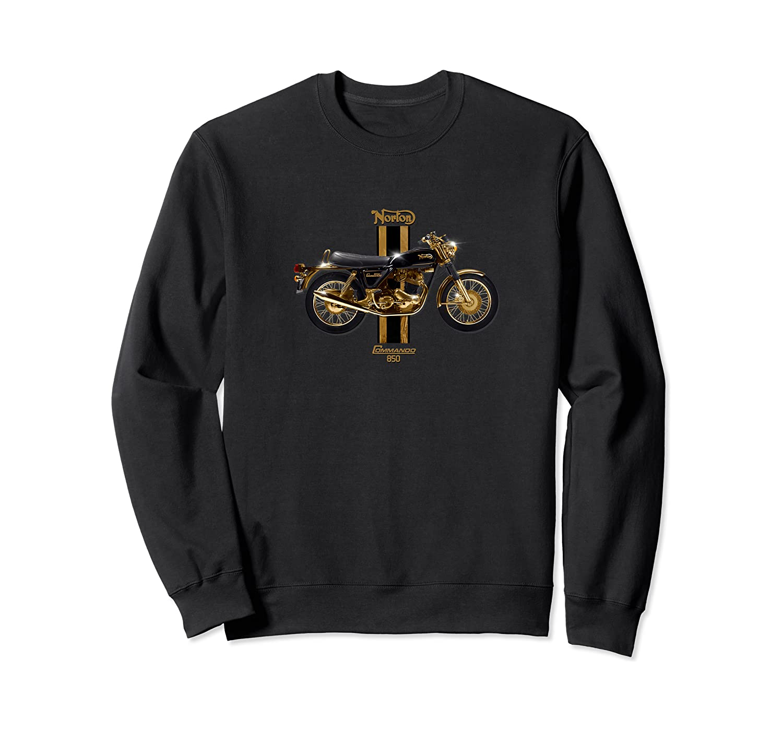 Vintage Motorcycle 1973 Norton Commando 850 Premium T-shirt Crewneck Sweater