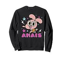 The Amazing World Of Gumball Anais Portrait Shirts Sweatshirt Black