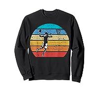 Vintage Basketball Retro Vintage Style Basketball Gift Shirts Sweatshirt Black