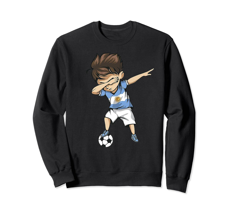 Dabbing Soccer Argentina - Argentinian Football Premium T-shirt Crewneck Sweater