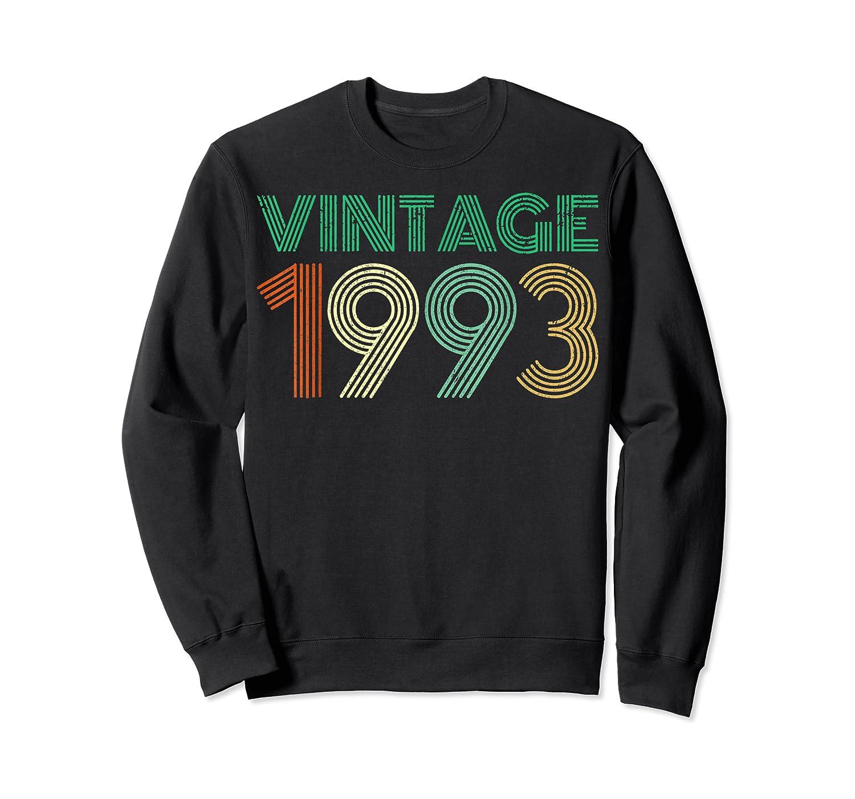 26th Birthday Gift Idea Vintage 1993 T-shirt Distressed Crewneck Sweater