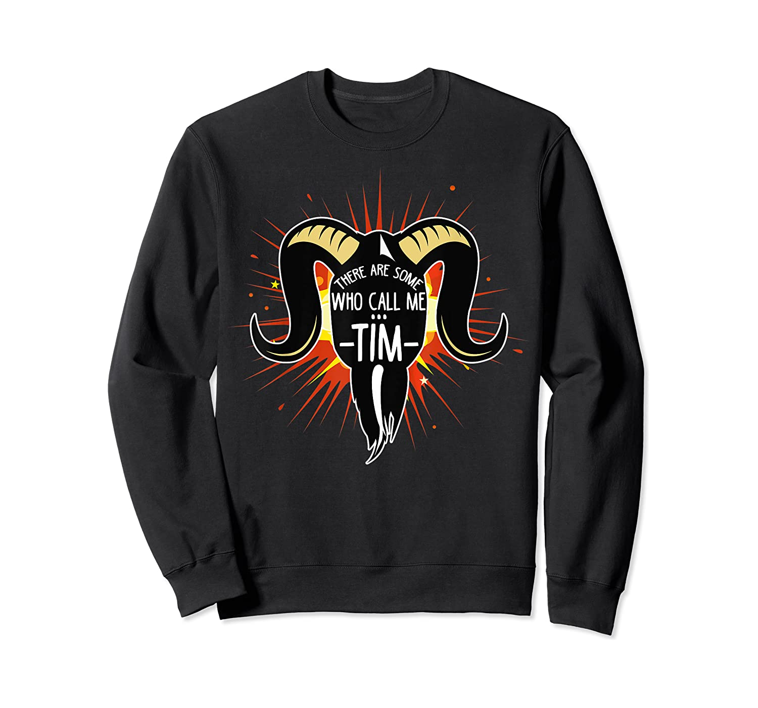 Some Who Call Me Tim Explosion T-shirt Crewneck Sweater