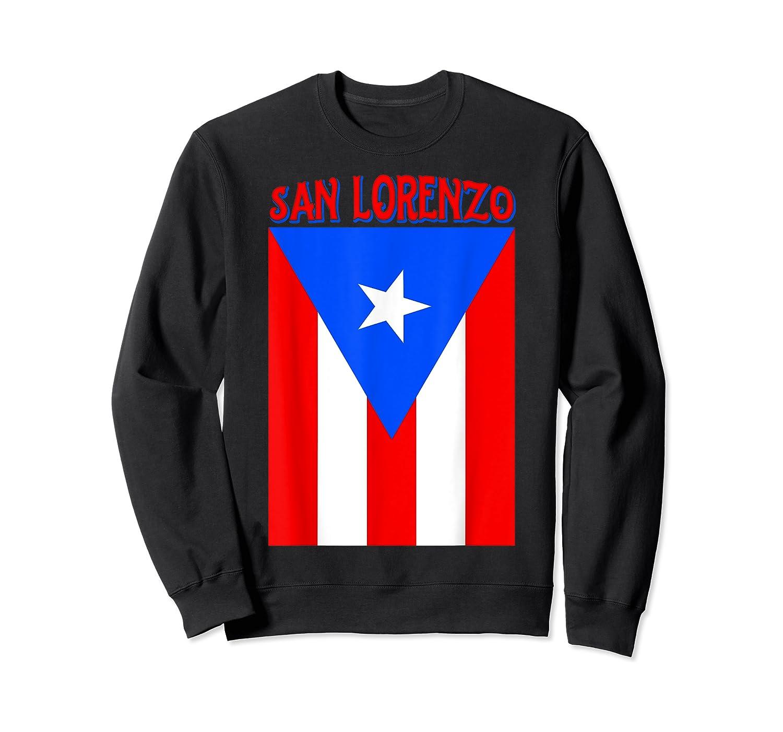 Puerto Rican San Lorenzo Puerto Rico Flag Shirt Crewneck Sweater