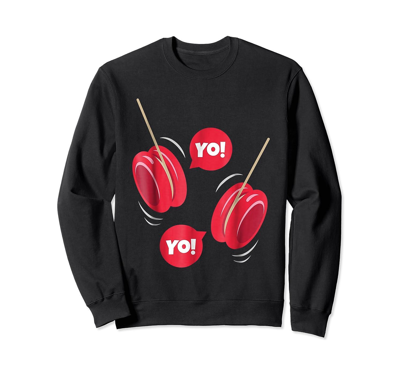 Yo-yo Shirt Yoyo Ball T-shirt Gift Crewneck Sweater