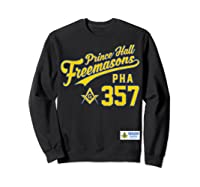 Masonic Prince Hall Pha 357 Sports Style Shirts Sweatshirt Black