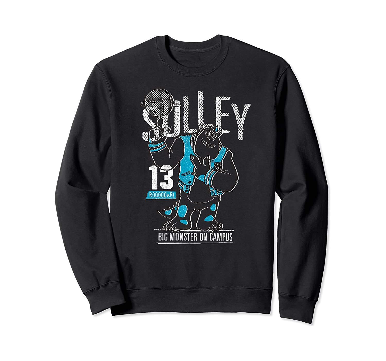 Disney Pixar Monsters University Sulley Basketball Premium T-shirt Crewneck Sweater
