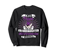 Cleft & Craniofacial Awareness Purple For Granddaughter Ts Shirts Sweatshirt Black