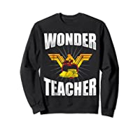 Wonder Tea Funny Tea Life Shirts Sweatshirt Black