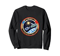 Apollo-soyuz Rendezvous Patch T-shirt Nasa History Sweatshirt Black