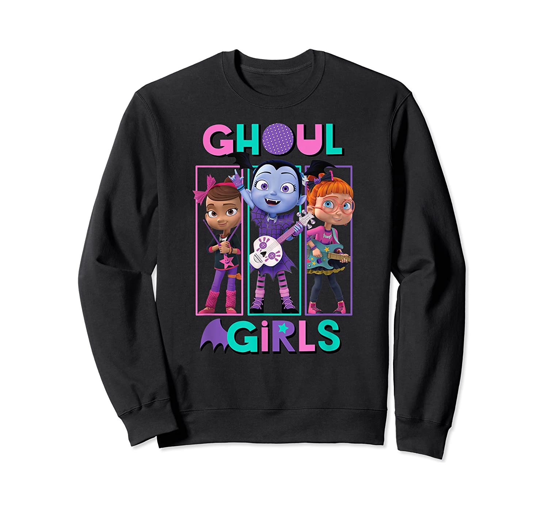 Vampirina Ghoul Girls Trio Shirts Crewneck Sweater