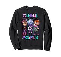 Vampirina Ghoul Girls Trio Shirts Sweatshirt Black