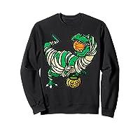 Funny Basketball Player T Rex Dinosaur Halloween Costume T-shirt Sweatshirt Black
