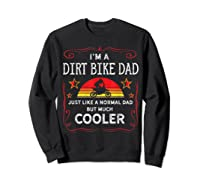Dirt Bike Motorcycle Vintage Retro Dirtbike Dad Gifts Shirts Sweatshirt Black