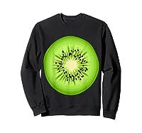 Kiwi Costume Fruit Halloween Costume Shirts Sweatshirt Black