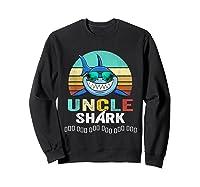 Uncle Shark Doo Doo T-shirt Sweatshirt Black