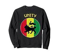 Rasta Live Up Unity Design Shirts Sweatshirt Black