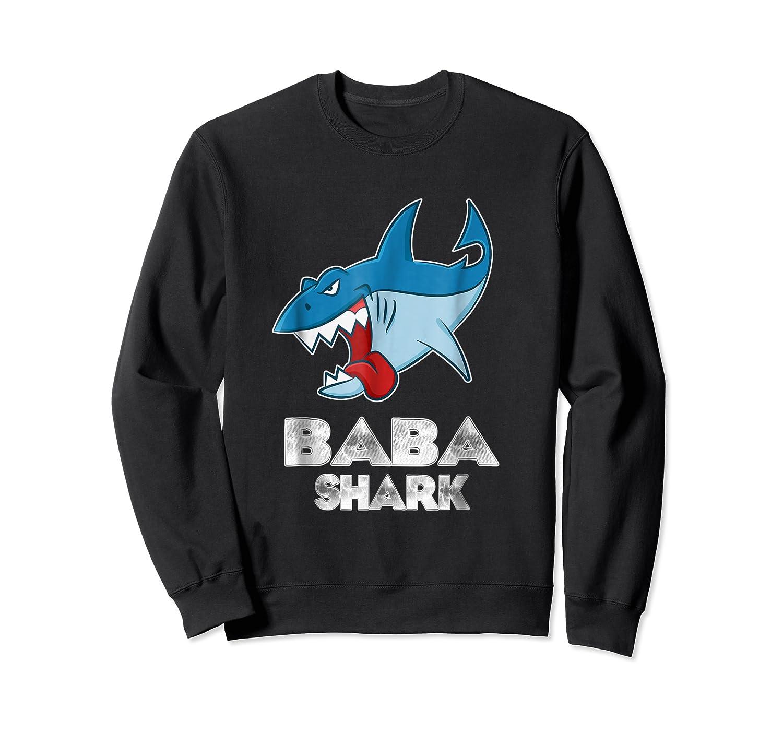 Baba Shark Shirts Crewneck Sweater