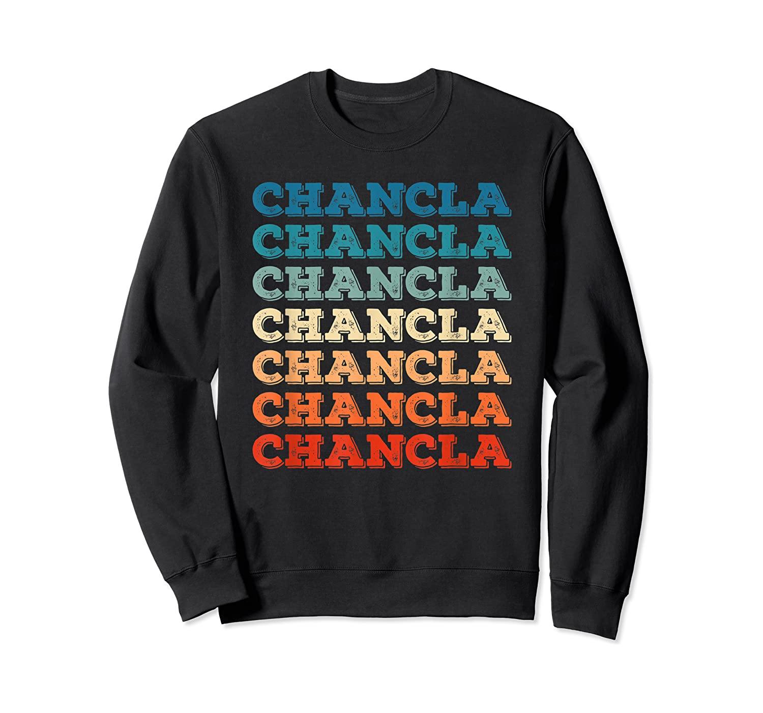 Funny Mexican Mom Gift Chancla T-shirt Crewneck Sweater