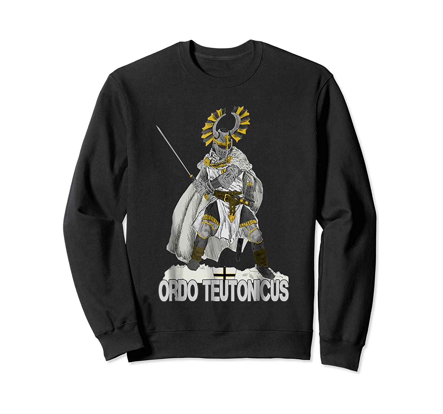 Knights Of The Teutonic Order Shirts Crewneck Sweater
