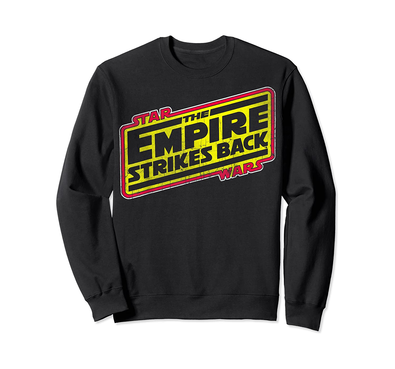 Star Wars The Empire Strikes Back Vintage Logo T-shirt Crewneck Sweater