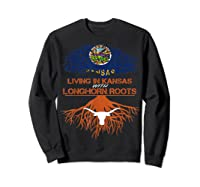 Texas Longhorns Living Roots Apparel Shirts Sweatshirt Black