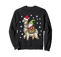 Santa Hat Christmas - Santa Gnome T-shirt Sweatshirt Black