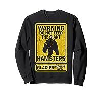 Funny Glacier National Park Grizzly Brown Bear Souvenir Gift Shirts Sweatshirt Black