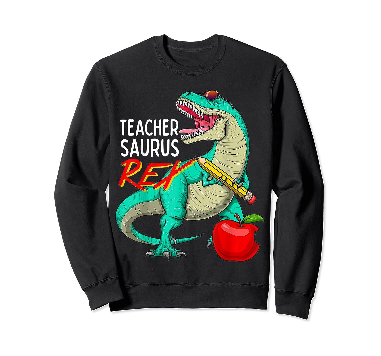 Teasaurus Rex - Funny Dinosaur Tea Appreciation Gift T-shirt Crewneck Sweater