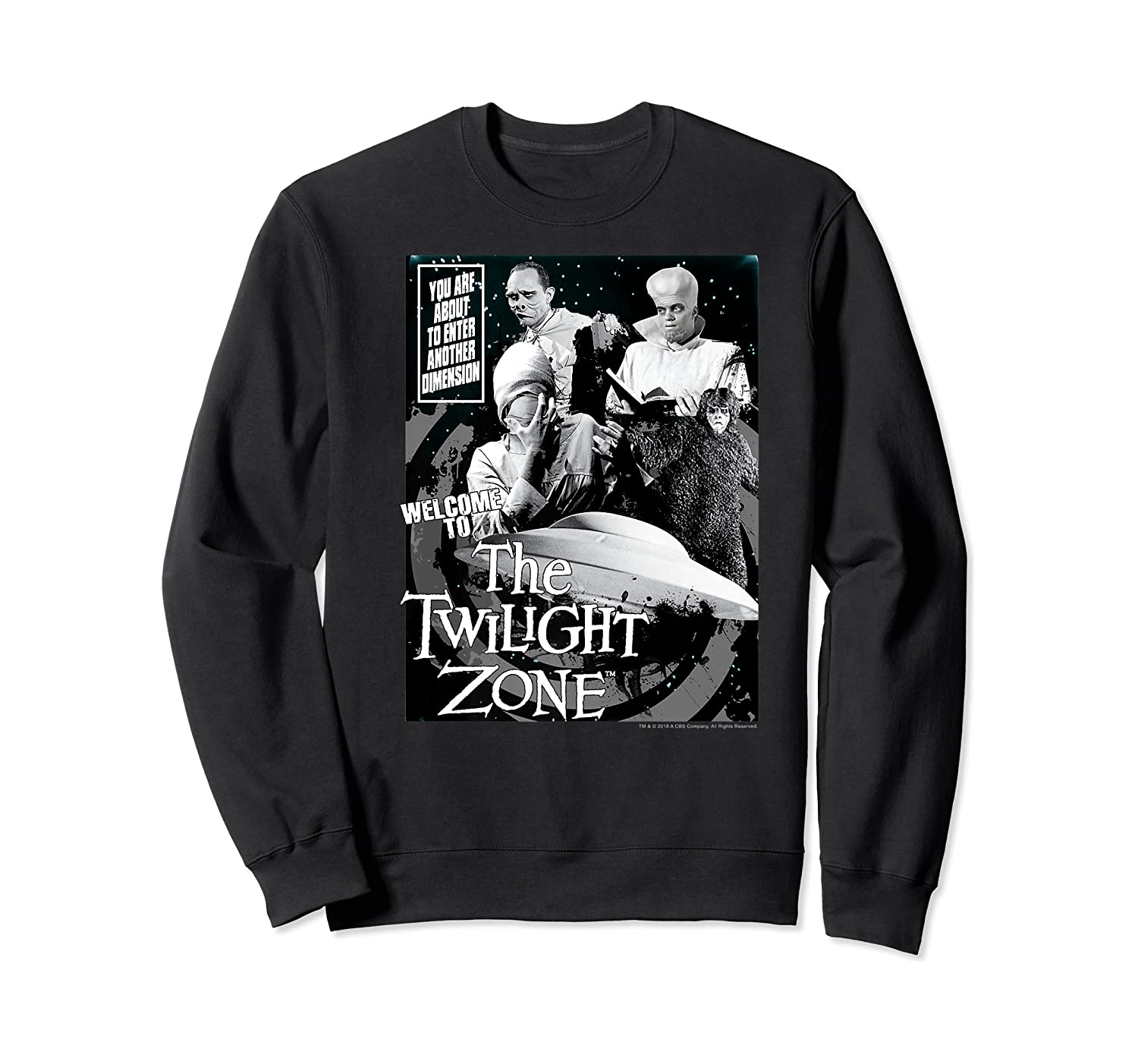 Twilight Zone About To Enter Another Dision Shirts Crewneck Sweater