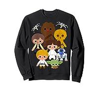 S Cute Kawaii Style Heroes Graphic C1 Shirts Sweatshirt Black