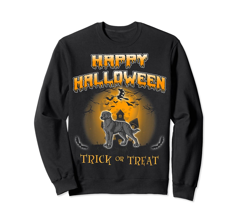 Chesapeake Bay Retriever Dog Happy Halloween T-shirt Crewneck Sweater